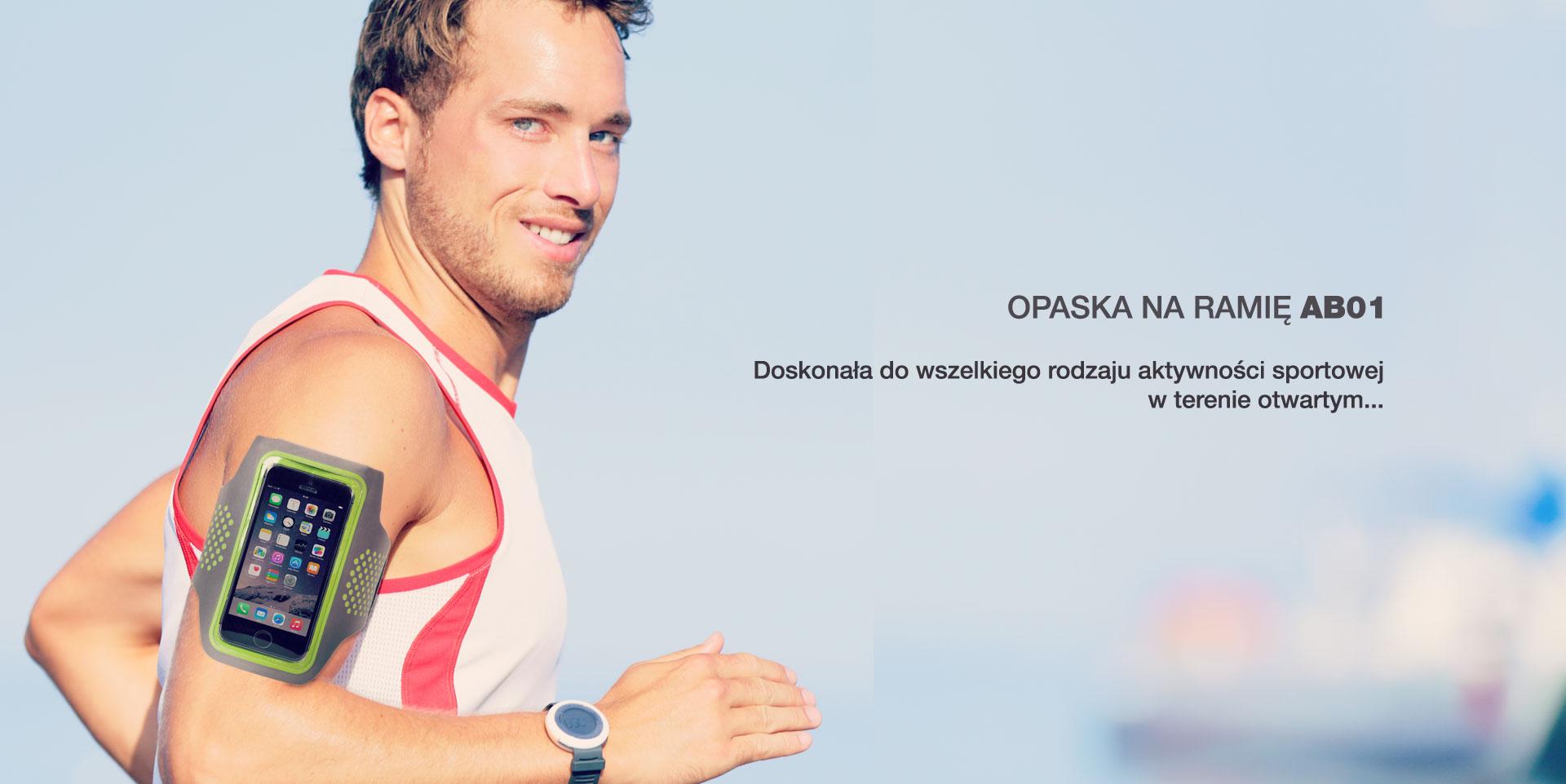 OPASKA NA RAMIĘ AB01. Doskonała do wszelkiego rodzaju aktywności sportowej w terenie otwartym...